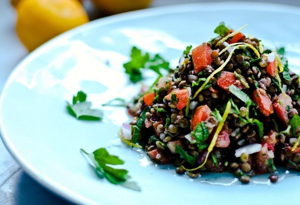 Lentil Tabouli Salad