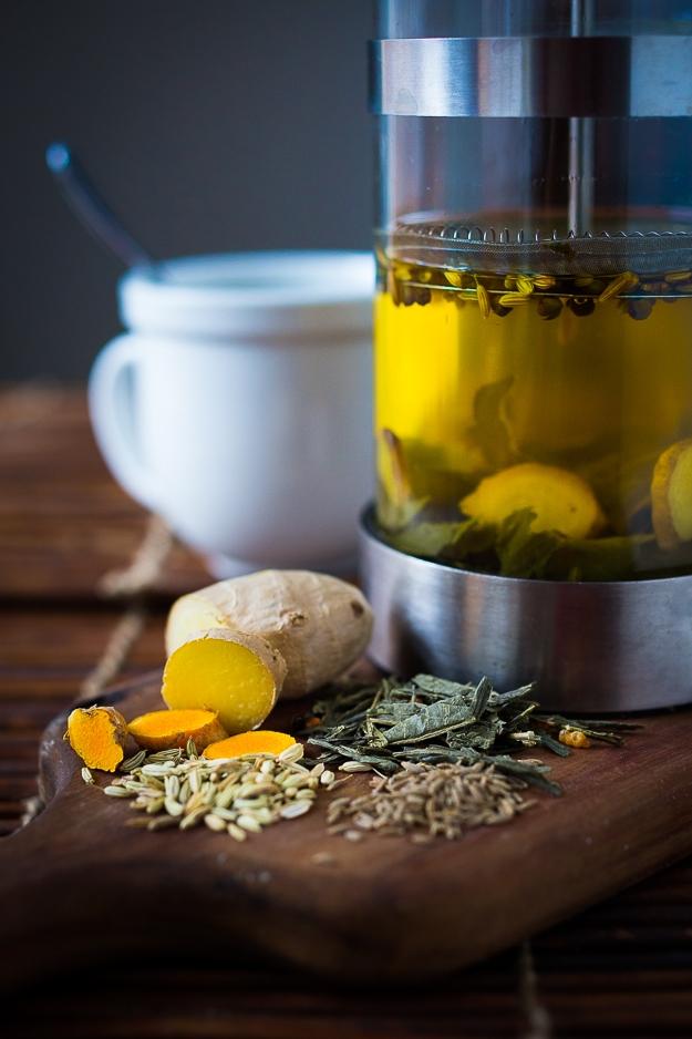 Ayurvedic Turmeric Detox Tea…a daily drink