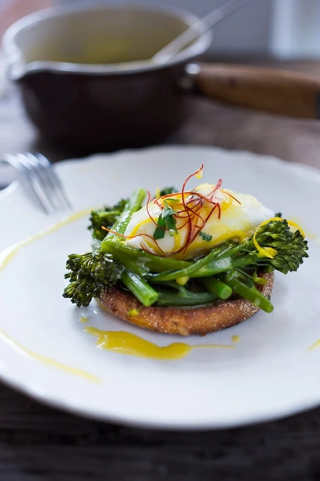 Broccolini Benedict w/ Meyer Lemon Hollandaise