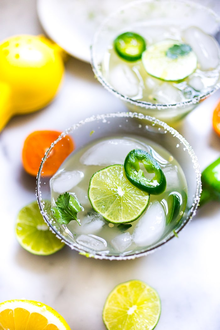 Mezcal Margarita | Feasting At Home