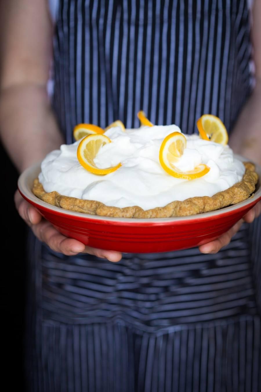 Lemon Cloud Pie