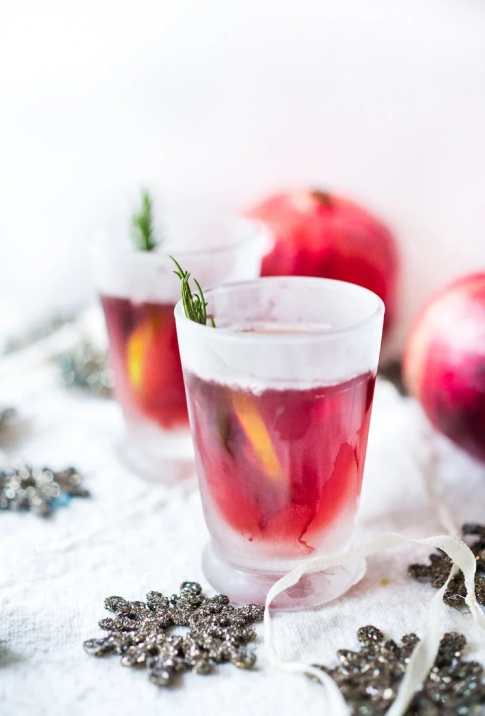Pomegranate Drop with Rosemary