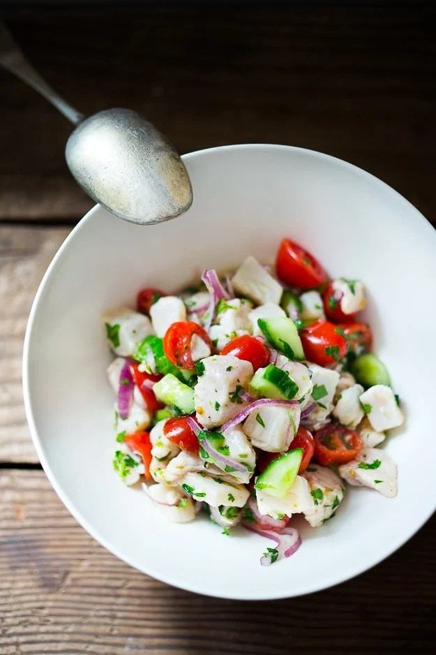 10 Light and fresh Summer dinners| An easy Ceviche recipe, perfect for hot summer nights!