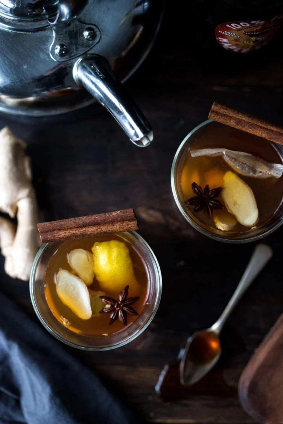 Maple Ginger Hot Toddy | Feasting At Home