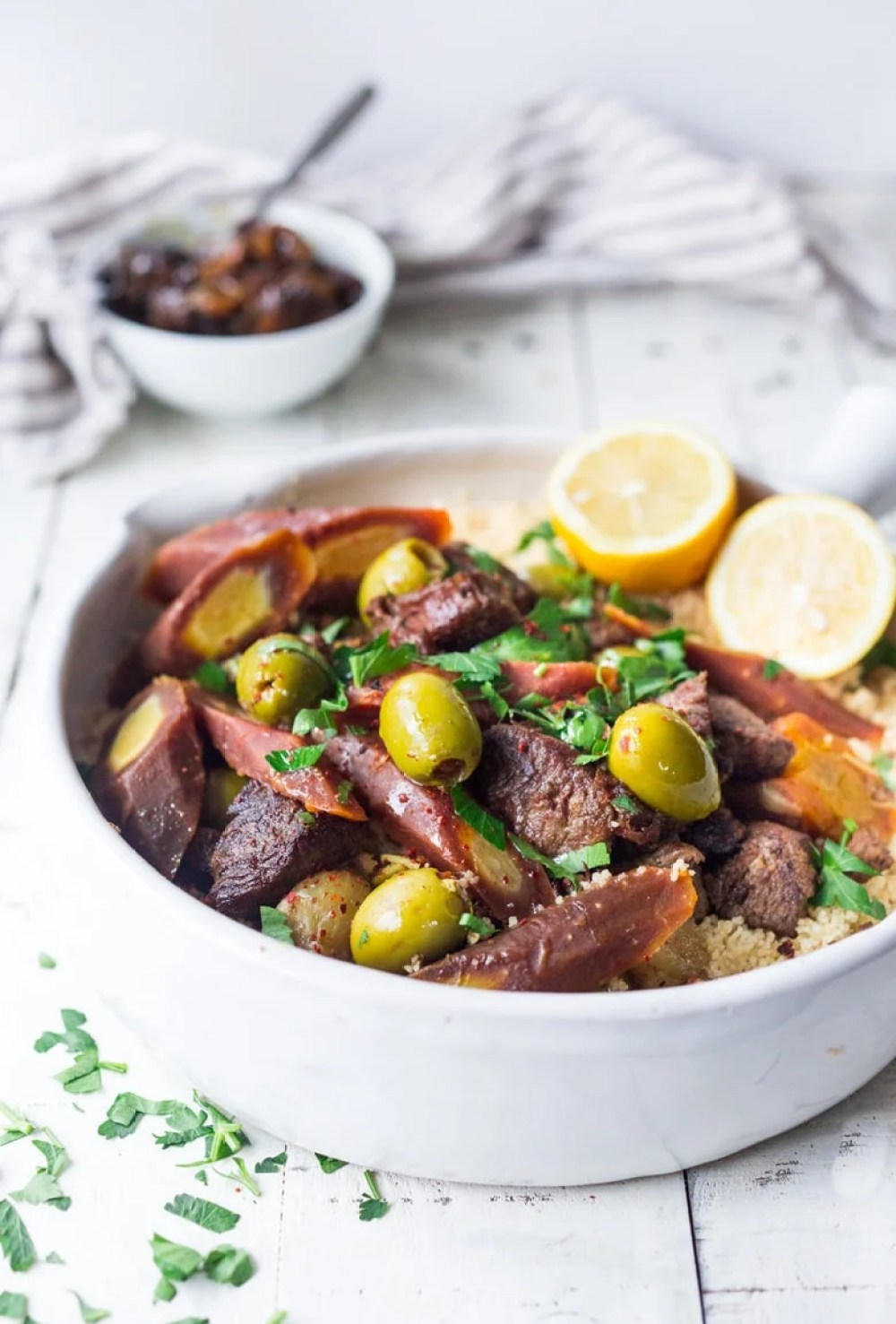 Instant Pot Lamb Tagine