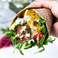 Baked Chicken Shawarma (vegan adaptable!)