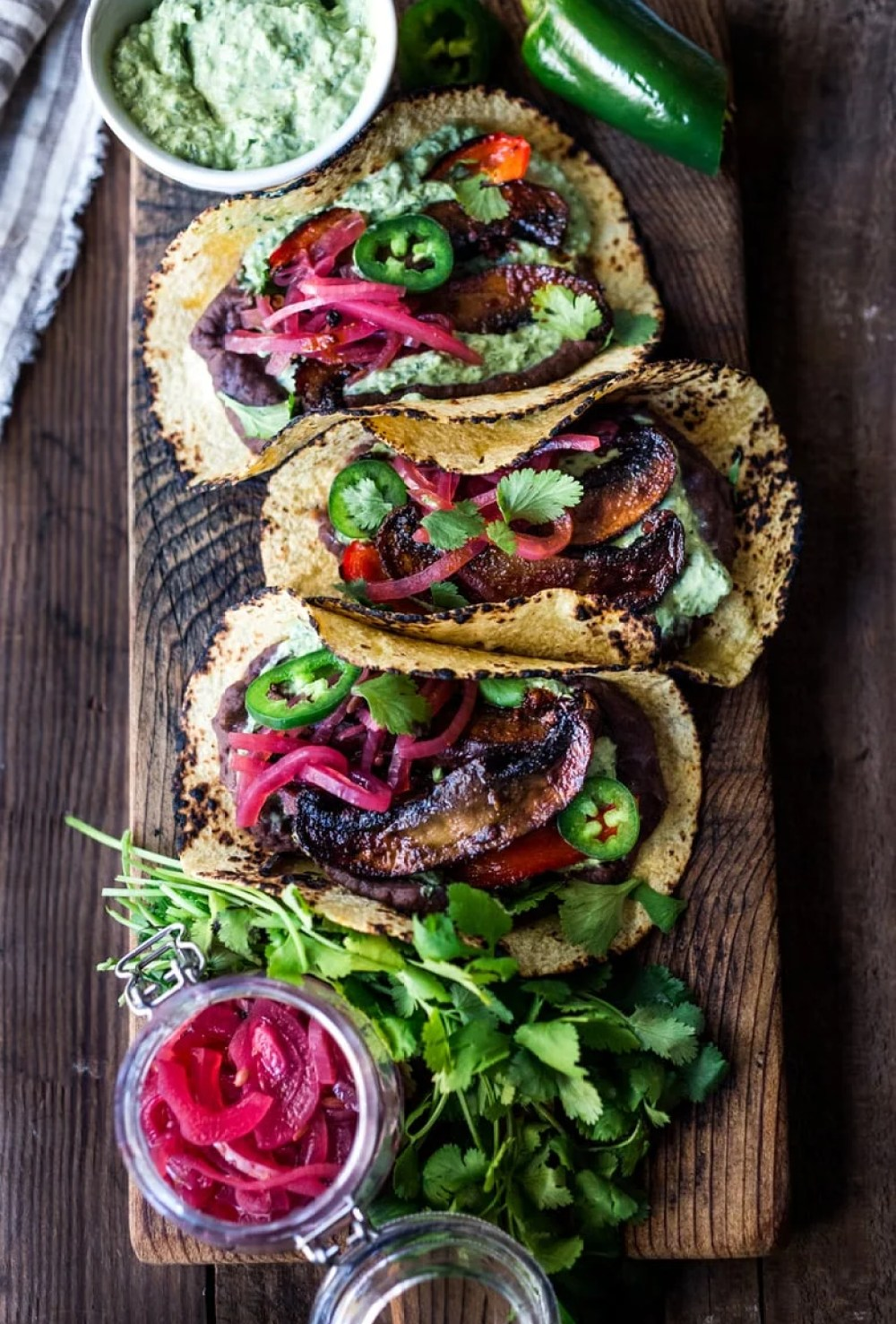 Chipotle Portobello Tacos