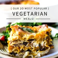 20 Vegetarian Dinner Recipes!