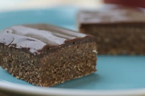 No-Bake Brownies with Fudgy Fat-Free Frosting