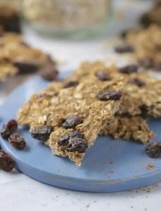 Oatmeal Raisin Cookie Brittle