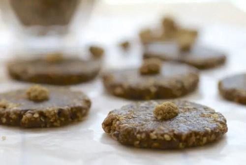 Vanilla Mulberry Cookies