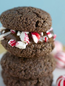 Chocolate Peppermint Cookiewiches