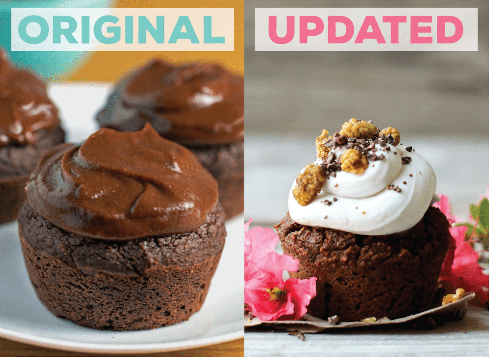 The Healthiest Chocolate Cupcakes {vegan / gluten-free / oil-free / fruit-sweetened}