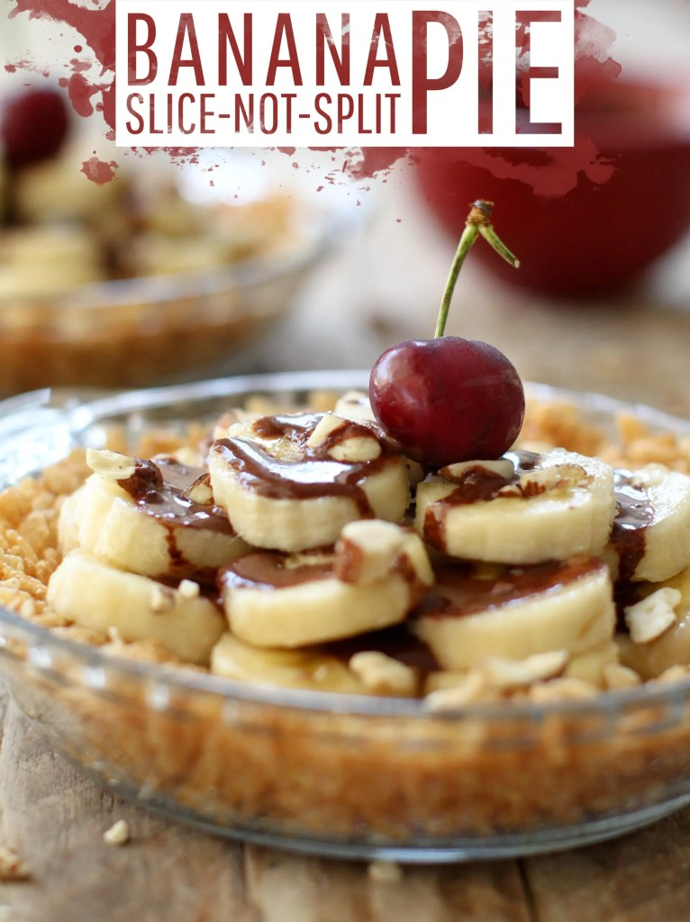 Banana Slice-not-Split Pie - FeastingonFruit.com