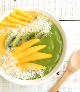 Mango Baobab Smoothie Bowl