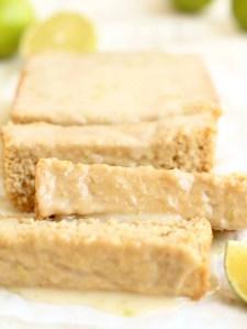 Vegan Lime Loaf Cake