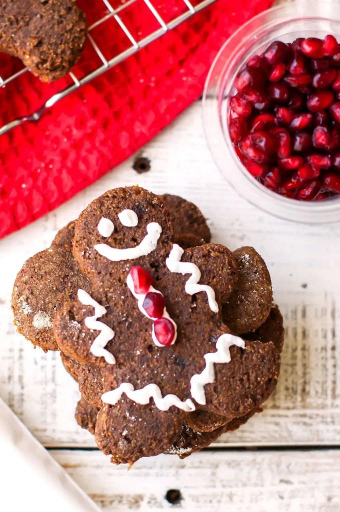 Vegan Gluten-Free Gingerbread Men - FeastingonFruit.com