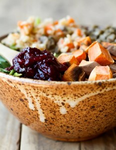 Vegan Thanksgiving Power Bowl