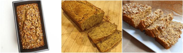 Maple Cornmeal Banana Bread recreations