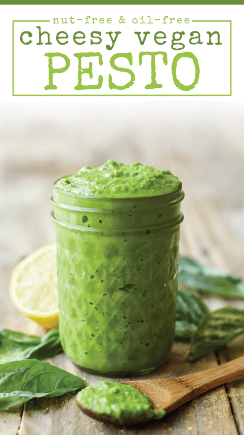 Oil-Free Pesto | Cheesy, Easy, Vegan Style
