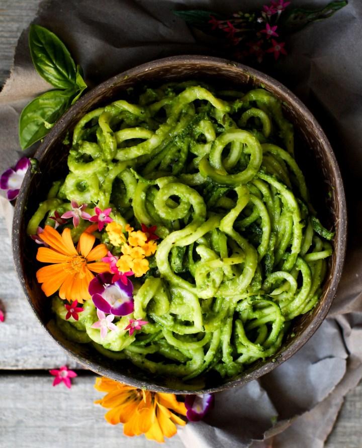 Oil-Free Pesto   Cheesy, Easy, Vegan Style