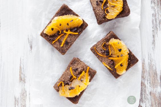 Chocolate Orange Protein Brownies