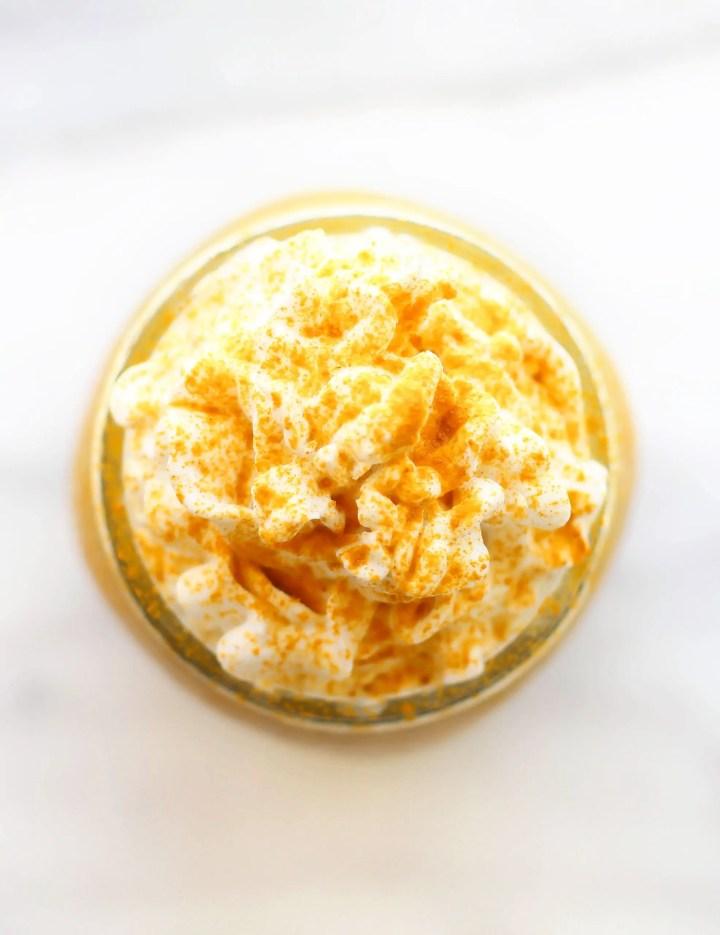 Golden Milk Frappuccino
