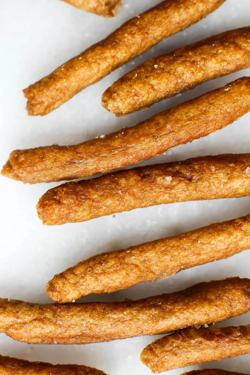 Gluten-Free Pretzel Sticks Recipe | Vegan & Oil-Free