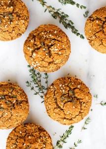 Sweet Potato & Herb Savory Muffins