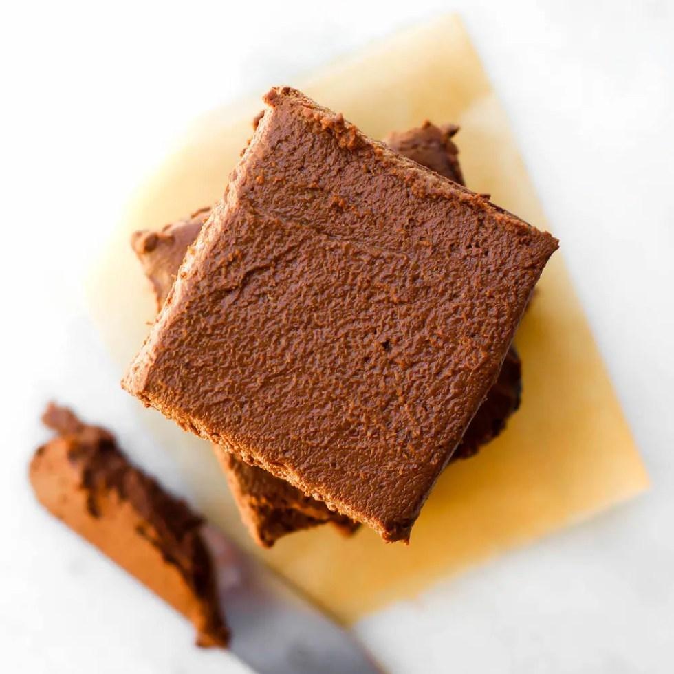 Low Fat Fudgy Vegan Brownies