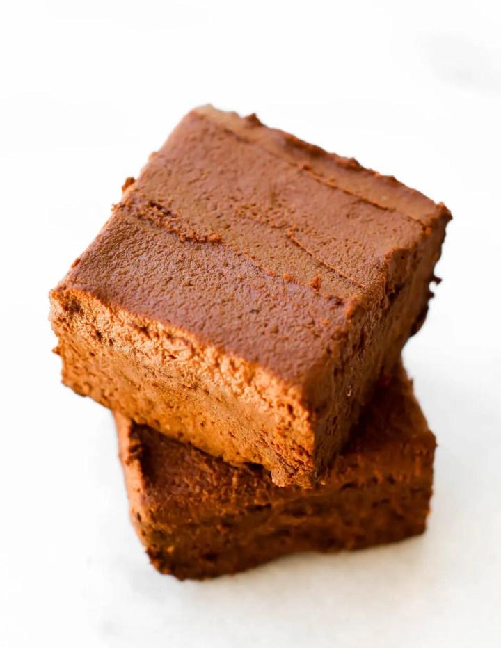 Vegan Fudgy Low Fat Brownies