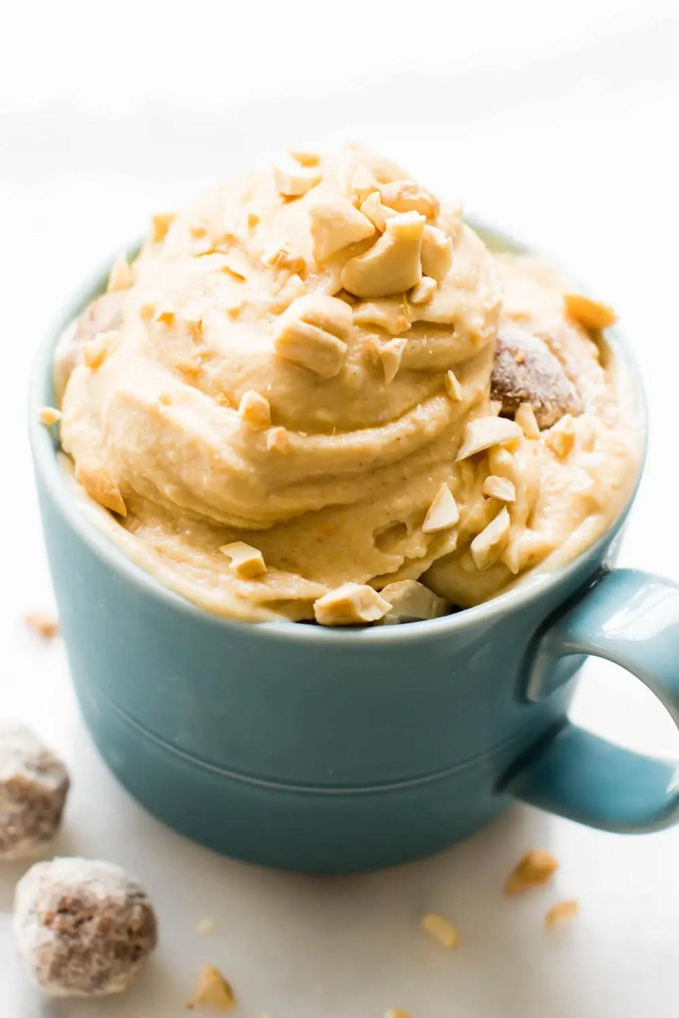 Chunky Peanut Butter Banana Ice Cream {vegan & gluten-free}