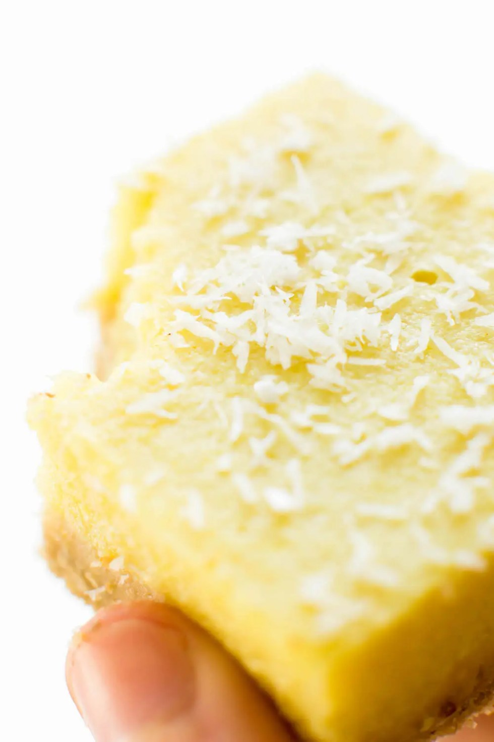 (Secret Ingredient) Vegan Lemon Bars