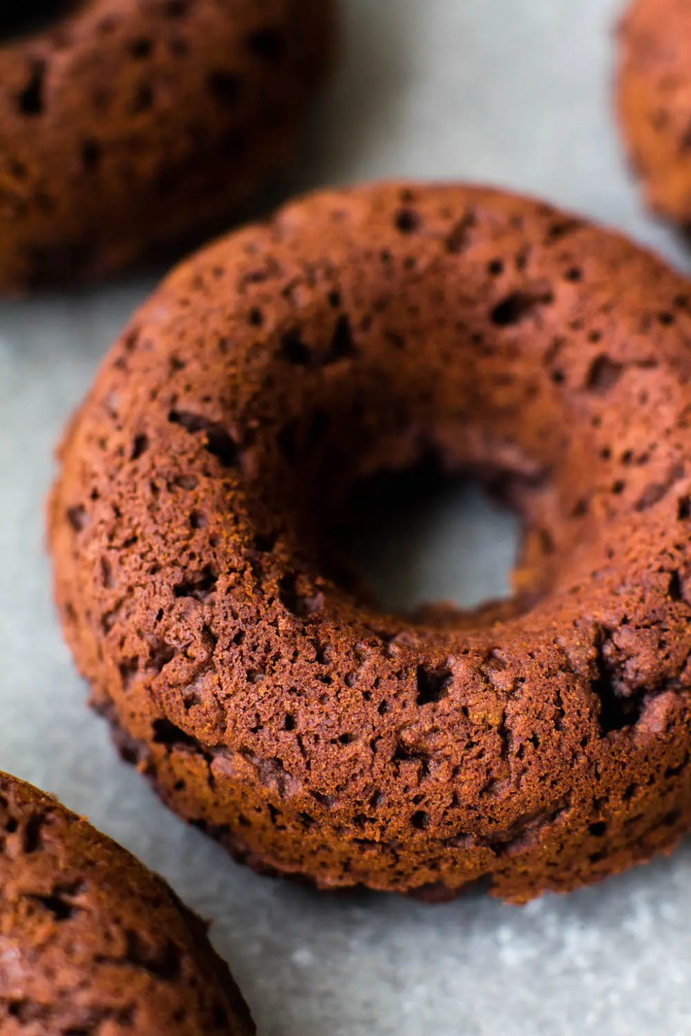 Chocolate Brownie Grain-Free Donuts {vegan & nut-free}