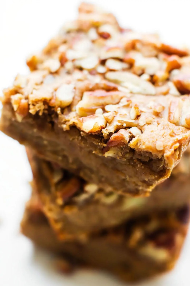 Grain-Free Vegan Sweet Potato Blondies