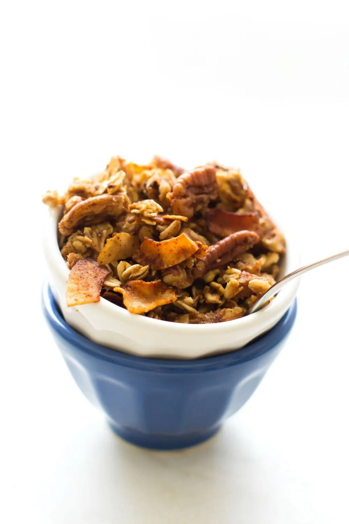 Vegan Maple Bacon Granola (with a secret ingredient!)