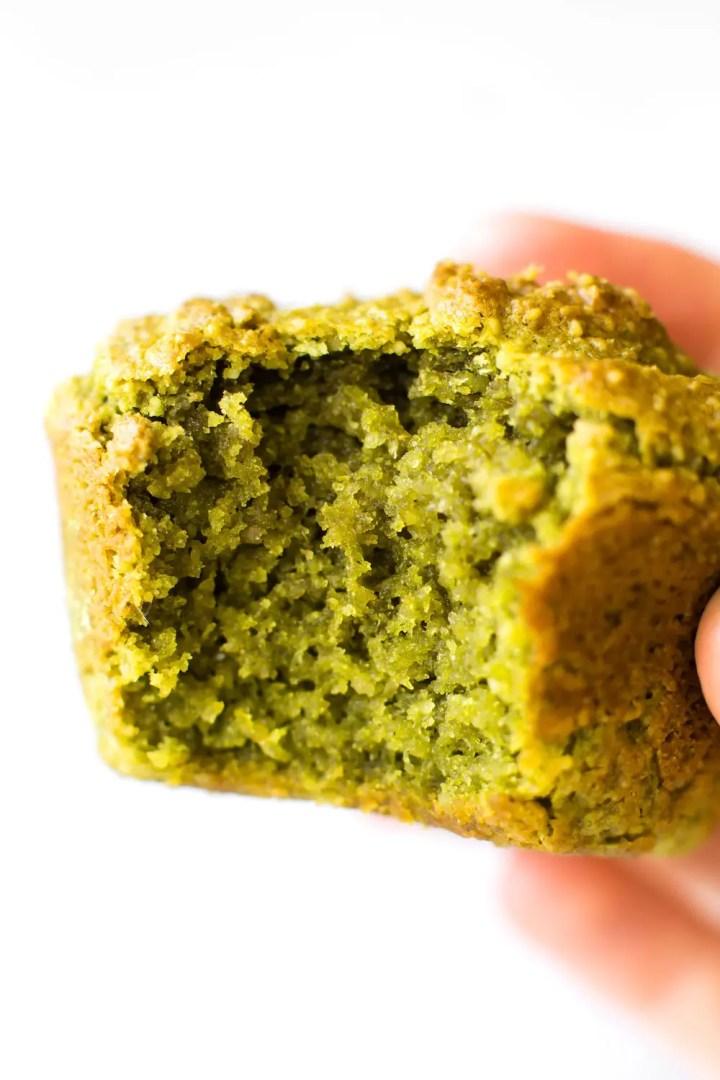 Avocado Matcha Muffins (vegan & paleo)