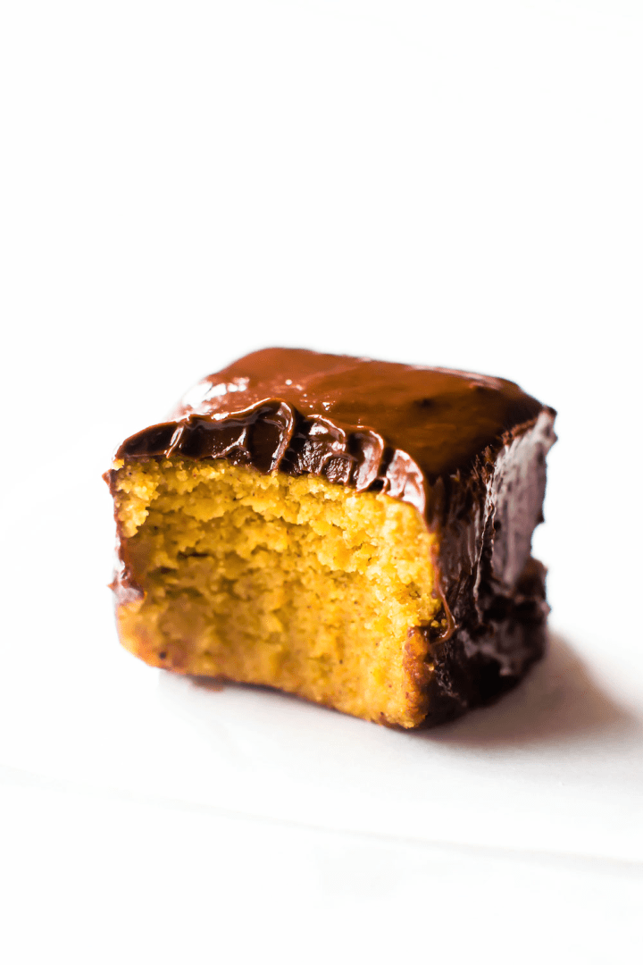 Pumpkin Spice Truffle Bars