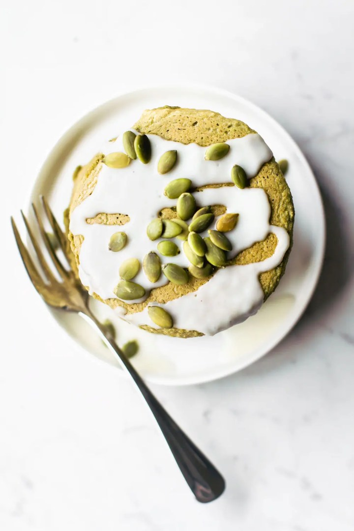 Vegan Avocado Pancakes