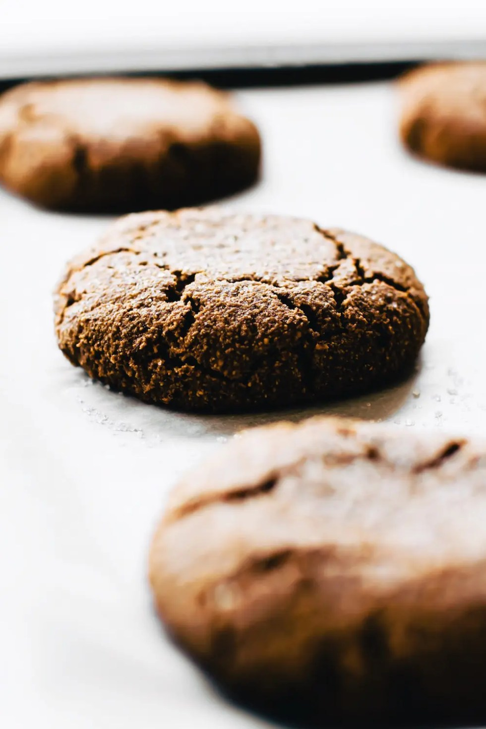 Soft-Baked Ginger Molasses Cookies