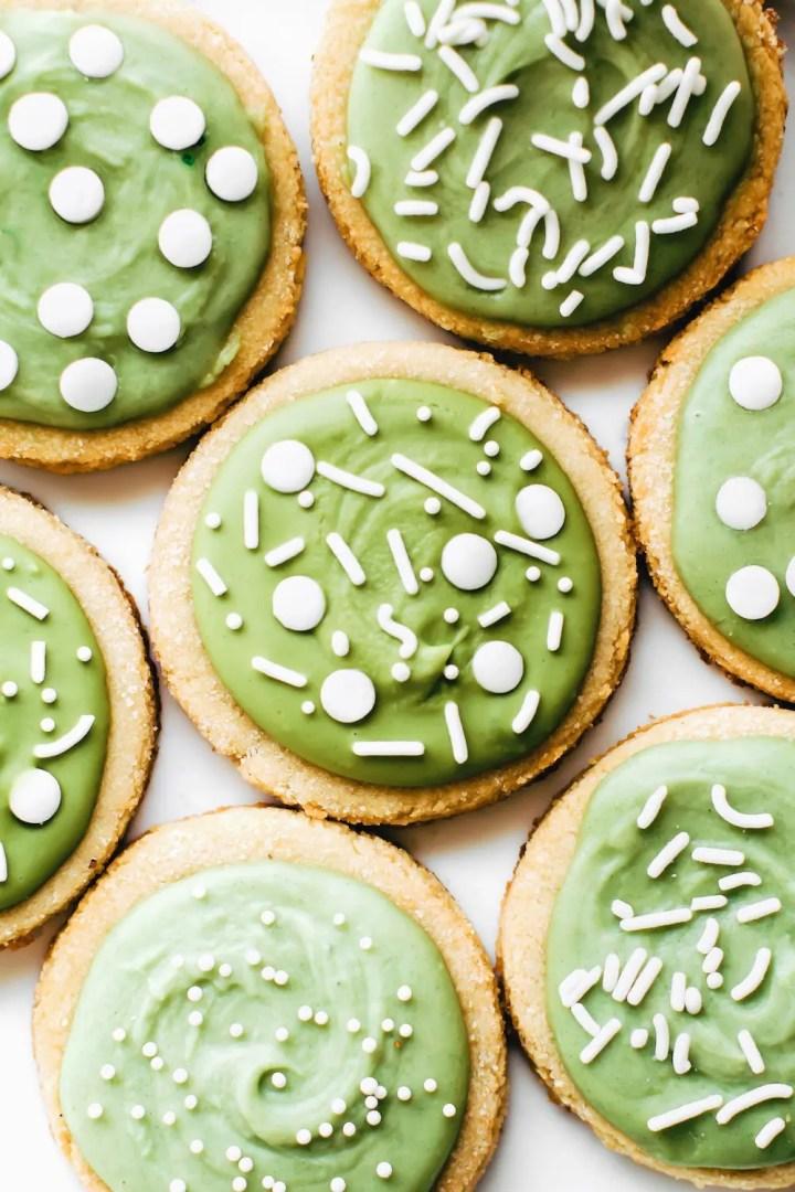 Almond Flour Sugar Cookies {vegan, gluten-free, paleo}