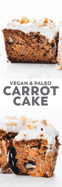 Vegan Paleo Carrot Cake