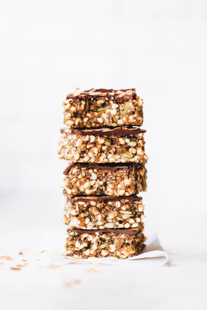 Chocolate Fig Snack Bars
