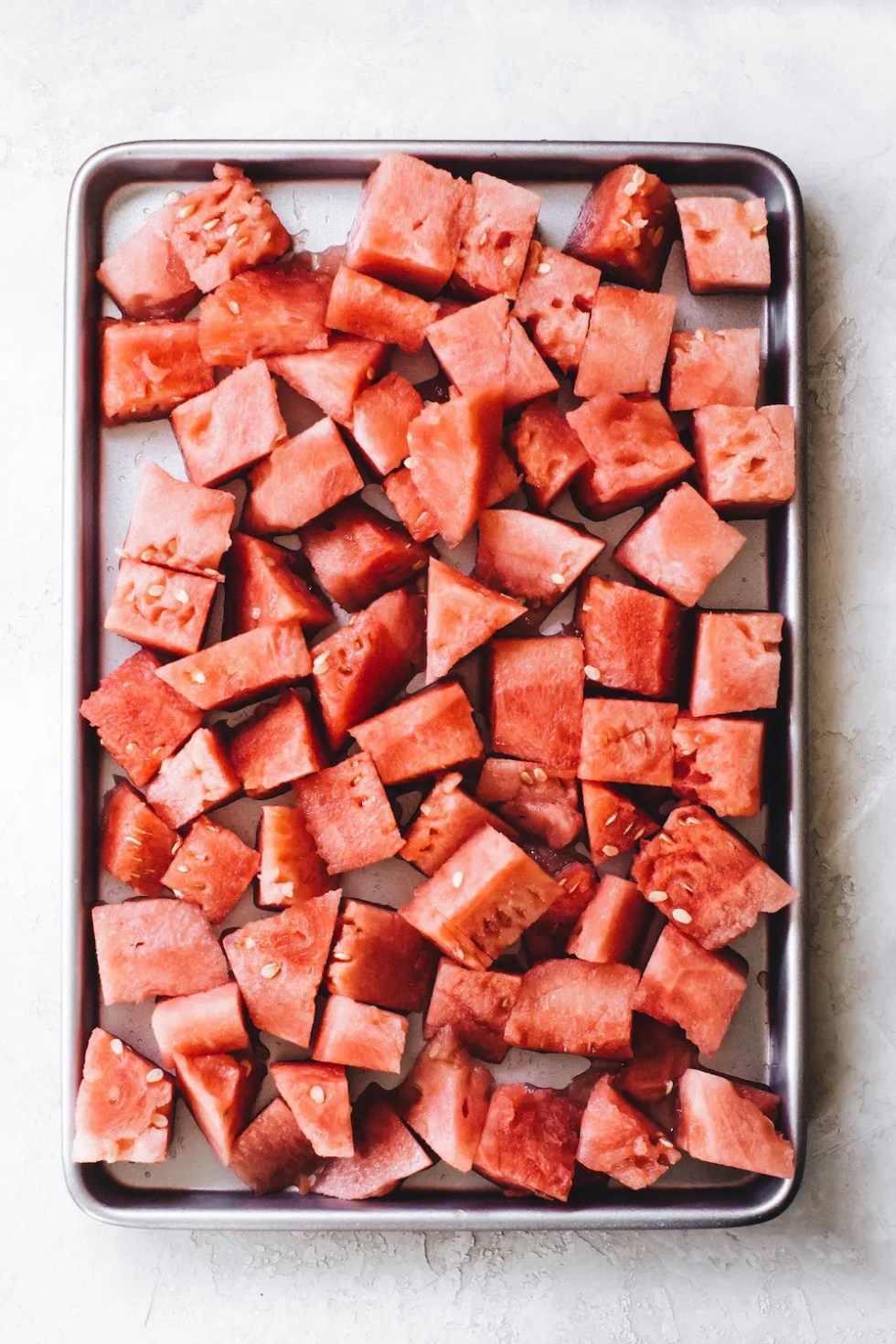 Watermelon Mint Ice Cream