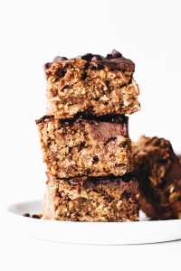Chocolate Covered Oatmeal Bars
