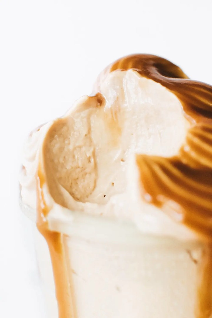 Sunbutter Soft Serve Ice Cream