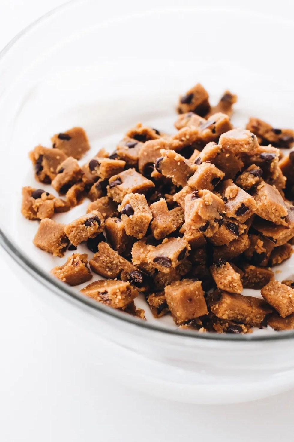 Cookie Dough Froyo Bites