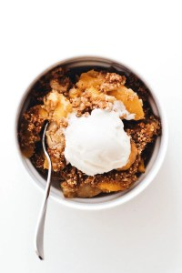 Peaches and Cream Crisp