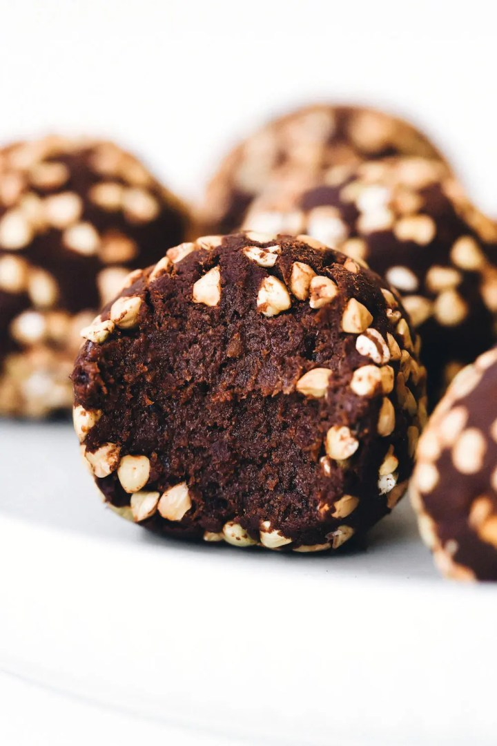 Buckwheat Brownie Crunch Balls