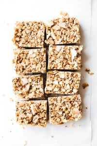 Toasted Coconut Snack Bars